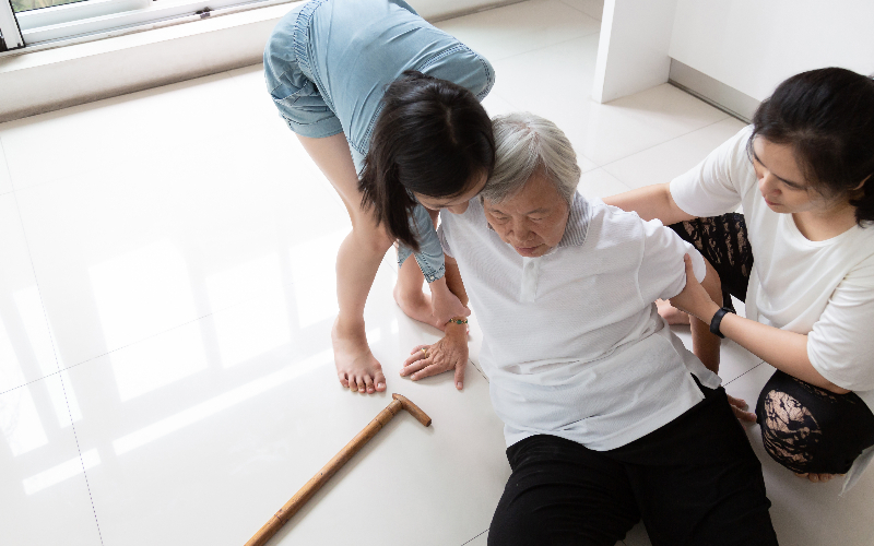 How to reduce the fall risk for the elderly